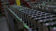 Stock Video Footage of Carlsberg conveyer belt(UK)