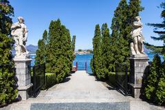 Lago maggiore - italy Stock Photos