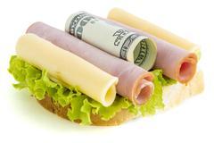 Financial nutrition Stock Photos