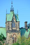 ottawa historical buildings - stock photo