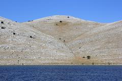 Pristine Dalmatian landscape, Kornati archipelago - stock photo