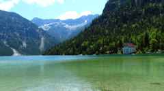 Stock Video Footage of plansee lake, tyrol, austria
