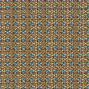 Seamless swirl square Stock Illustration