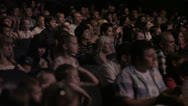 Stock Video Footage of Audience applauded in the theater.