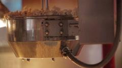 Popcorn making 3 Stock Footage