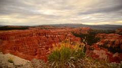 Bryce Canyon Dolly LM23 Inspiration Point Sunsest Stock Footage