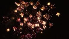 July 4th Fireworks #4 Stock Footage