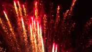 Stock Video Footage of July 4th Fireworks #5