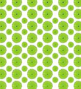 green leaf pattern - stock illustration