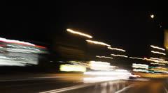 Frankfurt city Timelapse blurred three.mp4 - stock footage