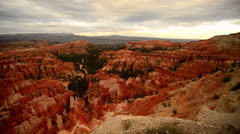 Bryce Canyon Timelapse Dolly LM07 Inspiration Point Sunsest Stock Footage