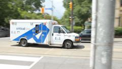 Toronto Ambulance. Stock Footage