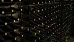 Wine Cellar 001 - stock footage