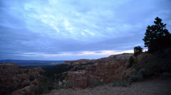 Bryce Canyon Timelapse Dolly LM13 Sunset Point Magical Hour Sunset Stock Footage
