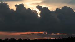 Sunset Sky Stock Footage
