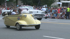 A 1960's Messerschmitt minicar. Stock Footage