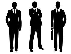 Businessmen Stock Illustration