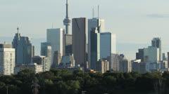 Toronto skyline. Stock Footage