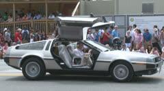 DeLorean Stock Footage