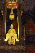 emerald buddha - stock photo