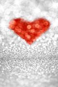Sparkling Heart Stock Photos