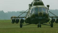 Mi-8 Stock Footage