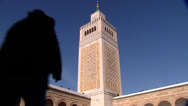 Stock Video Footage of TUNISIA - Zitouna mosque - Tunis 5