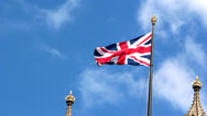 Stock Video Footage of Flag of England