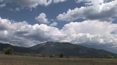 Sacred Taos Mountain Time Lapse Stock Footage