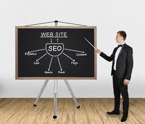 seo scheme - stock photo