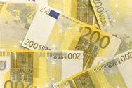 Stock Photo of euro bills - 200