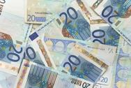 Stock Photo of euro bills - 20