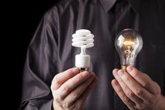 choices of energy - stock photo