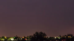 HD 24p tight Intense Lightning Storm Time Lapse Tucson West SIde Stock Footage