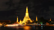 Stock Video Footage of Wat Arun