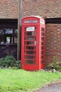 Telephone booth - stock photo
