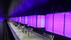 Hamburg Subway Stock Footage