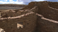 Cheltro Ketl, Chaco Culture National Historical Park Stock Footage