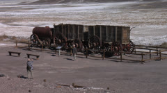 Twenty Mule Team Borax, Death Valley National Park Stock Footage