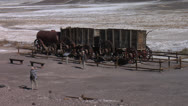 Stock Video Footage of Twenty Mule Team Borax, Death Valley National Park