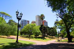 Plaza barrancas de belgrano in buenos aires Stock Photos