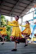 Stock Photo of dance on the ivan kupala day celebration