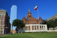 Downtown Dallas Kuvituskuvat