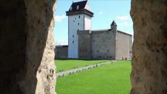 Medieval Castle Stock Footage