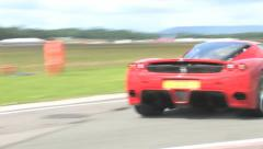Ferrari Enzo sliding corner Stock Footage