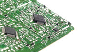 Circuit board pan 2 Stock Footage