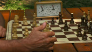 Stock Video Footage of chess game