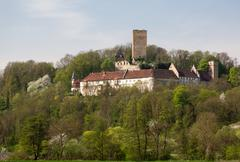 ruine ehrenberg in bad rappenau germany - stock photo
