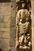 Stock Photo of monumental detail of cathedral santiago de compostela