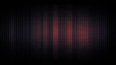 Stock Video Footage of Red Light Wall